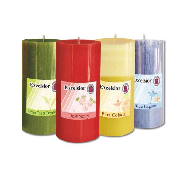 Scented Pillar Candles - 9 Inch