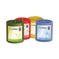 Scented Pillar Candles - 3 Inch