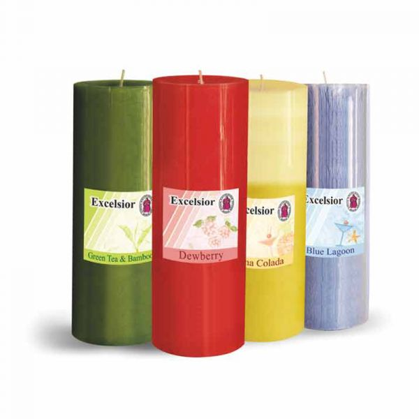 Scented Pillar Candles - 6 Inch