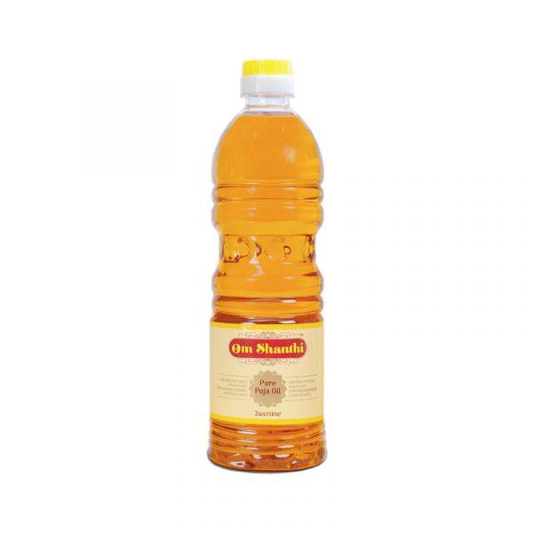 Om Shanthi Jasmine Pooja Oil - 500 ML